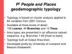 p 2 people and places geodemographic typology