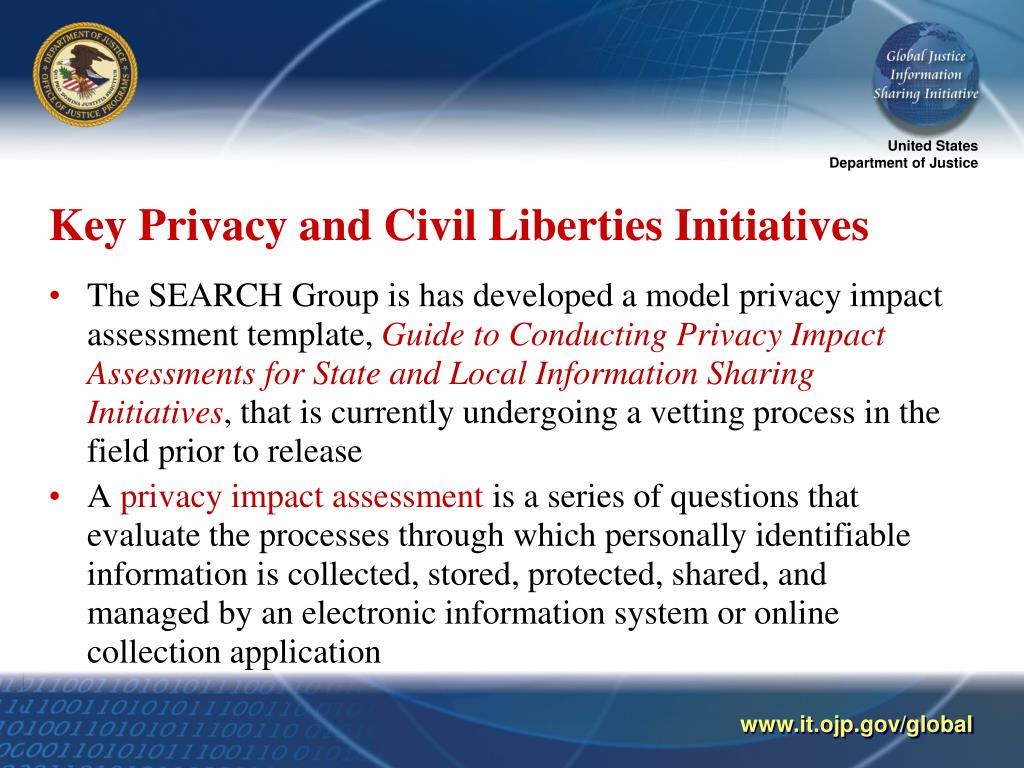 Key Privacy and Civil Liberties Initiatives