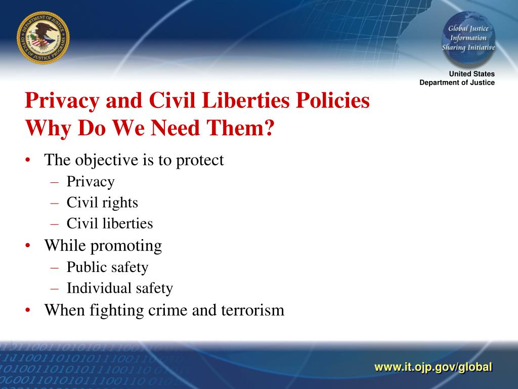 Privacy and Civil Liberties Policies