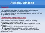 analisi su windows27