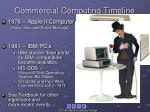 commercial computing timeline1