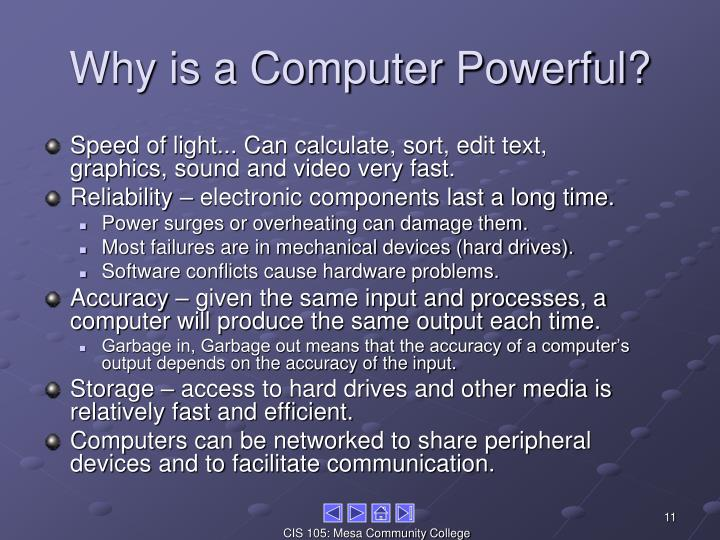 Why is a Computer Powerful?