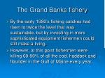 the grand banks fishery27