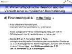 iii wirtschaftspolitische reaktion und der versuch einer europ ischen koordinierung10