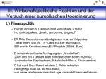 iii wirtschaftspolitische reaktion und der versuch einer europ ischen koordinierung8