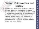 change citizen action and dissent84