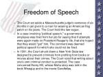 freedom of speech11