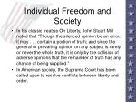 individual freedom and society4