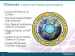wholesale a hub for all ip based communications