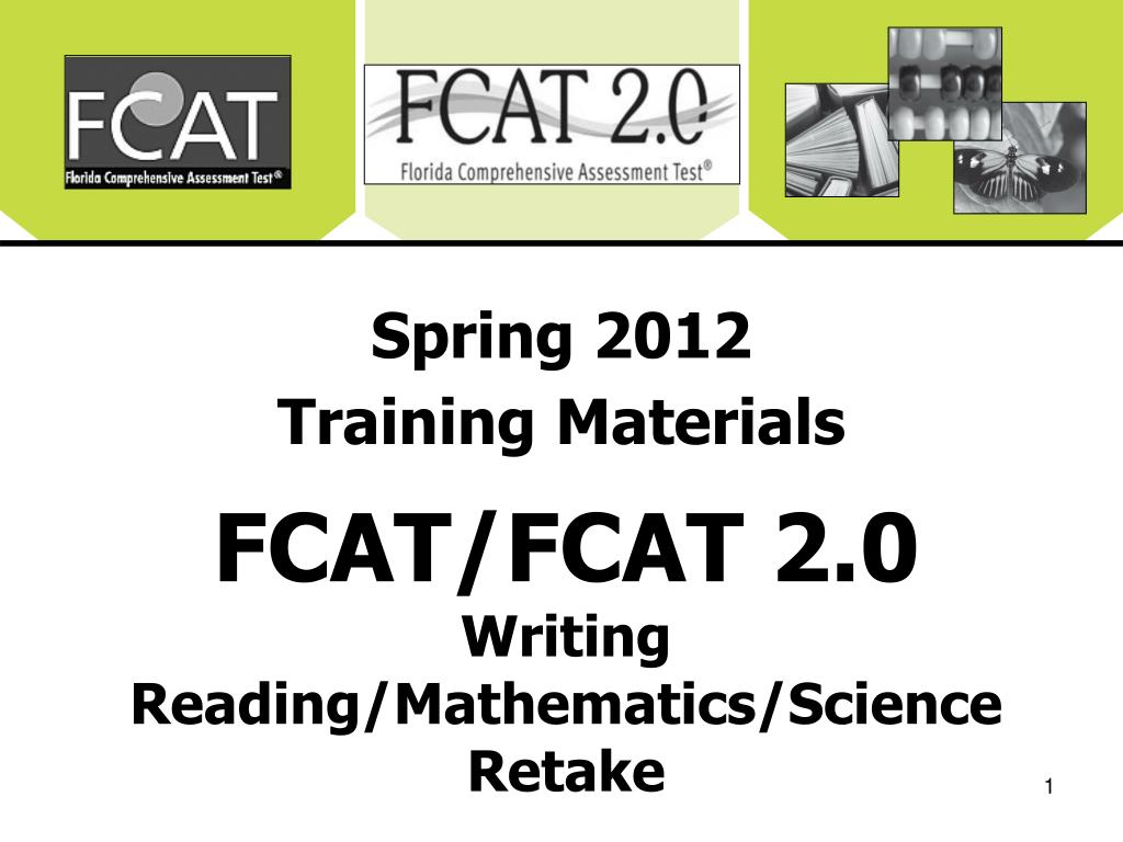 spring 2012 training materials l.