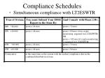 compliance schedules simultaneous compliance with lt2eswtr