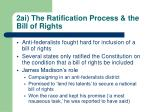 2ai the ratification process the bill of rights
