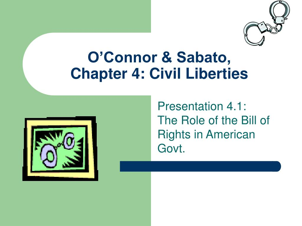 o connor sabato chapter 4 civil liberties l.