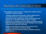phases of construction