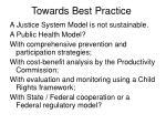 towards best practice