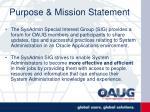 purpose mission statement