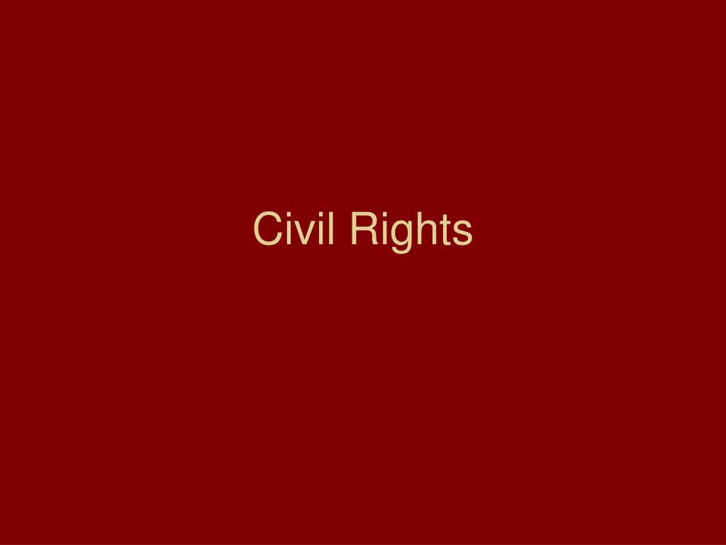civil rights l.