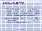responsabilita