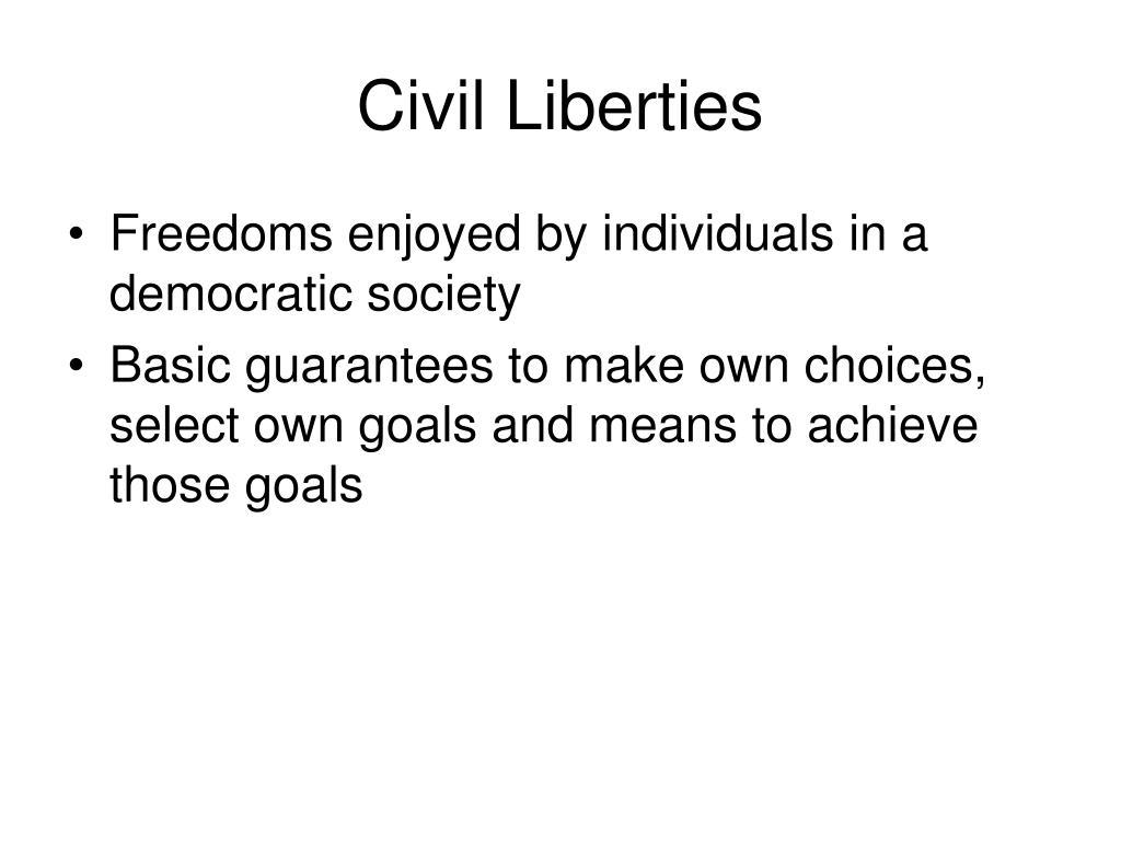 civil liberties l.