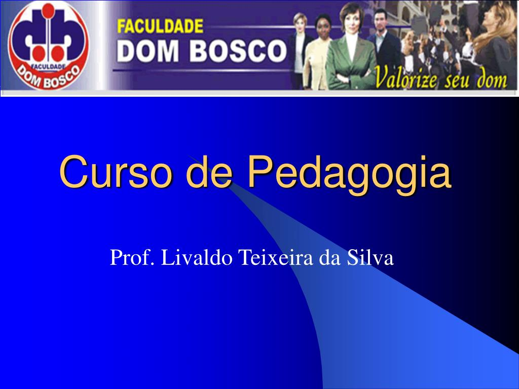 curso de pedagogia l.