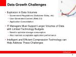 data growth challenges