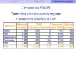 l impact du fngir transferts vers les autres r gions et transferts internes l idf