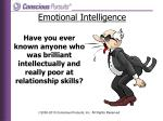 have you ever known anyone who was brilliant intellectually and really poor at relationship skills