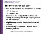 the problems of ego self