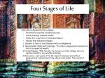 four stages of life