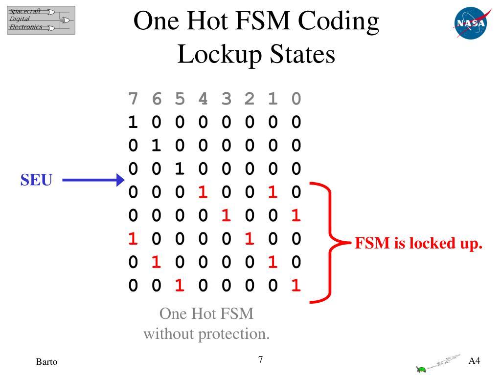 One Hot FSM Coding