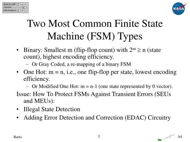 Two most common finite state machine fsm types
