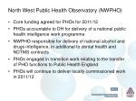north west public health observatory nwpho