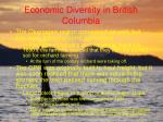 economic diversity in british columbia64