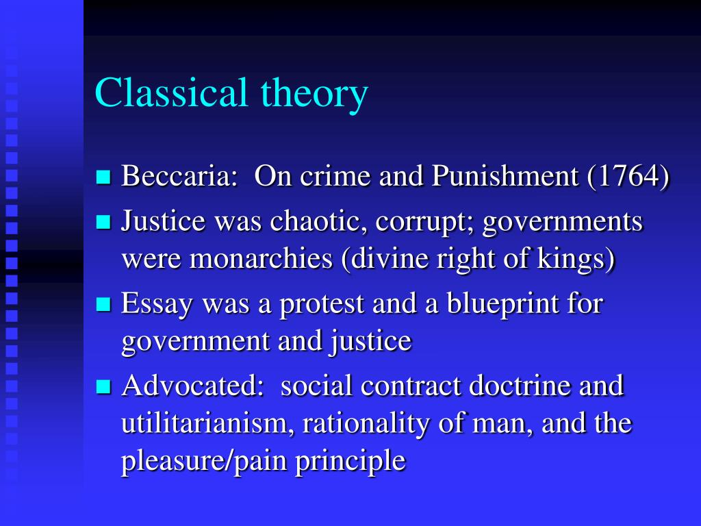 classical theory l.