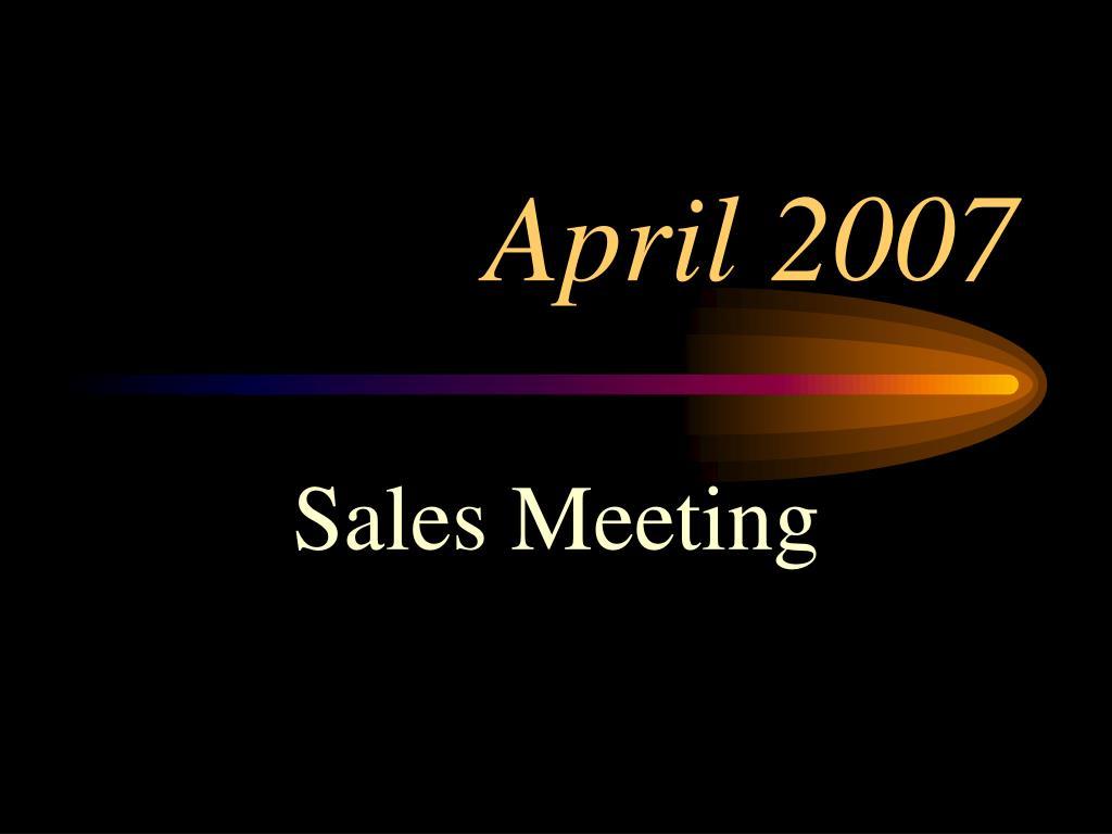 april 2007 l.
