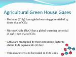 agricultural green house gases12
