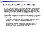 tcp initial sequence numbers i