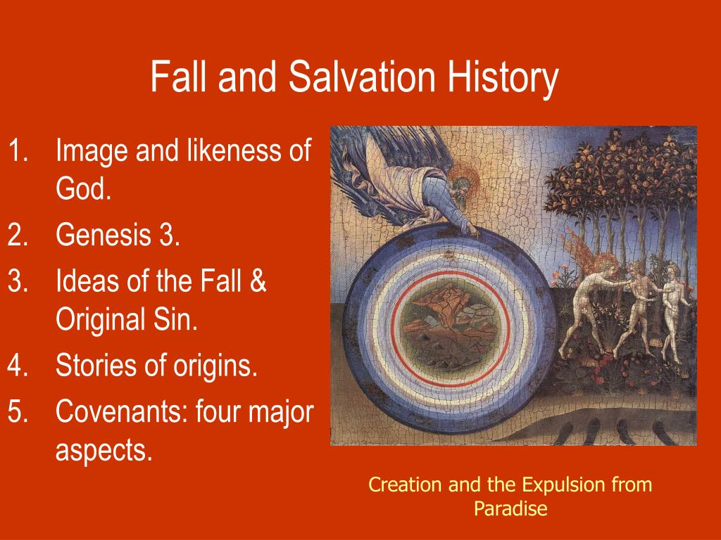fall and salvation history l.
