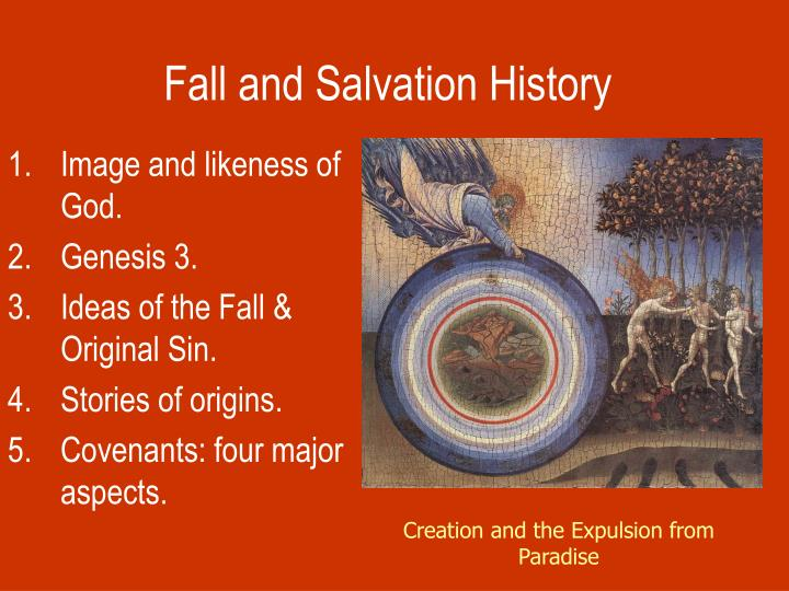 fall and salvation history n.