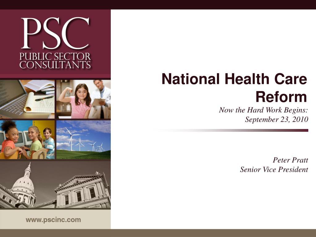 national health care reform l.