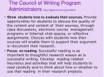 the council of writing program administrators http wpacouncil org node 920