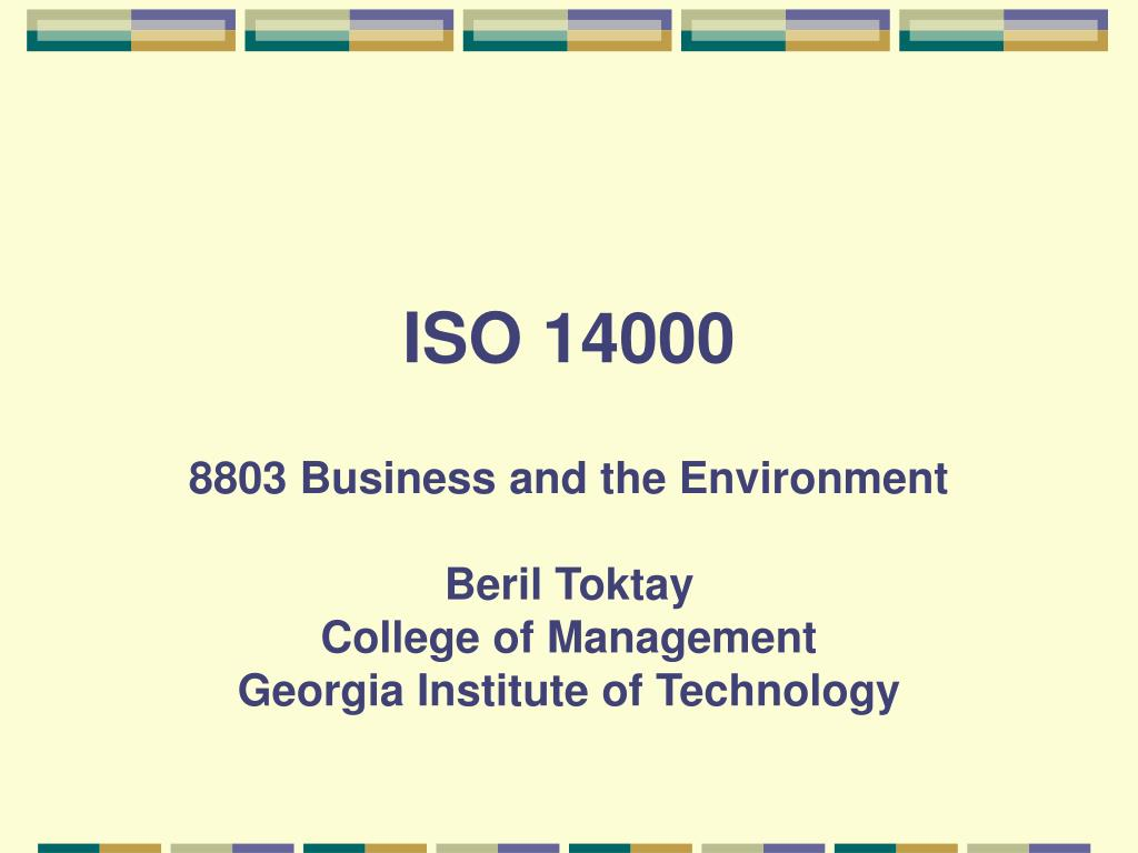 iso 14000 l.