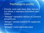 psichologinis profilis