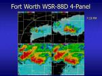 fort worth wsr 88d 4 panel20