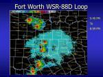 fort worth wsr 88d loop11