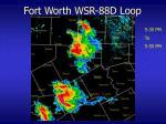 fort worth wsr 88d loop12