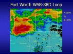 fort worth wsr 88d loop22