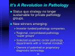 it s a revolution in pathology