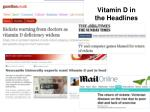 vitamin d in the headlines