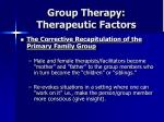 group therapy therapeutic factors25